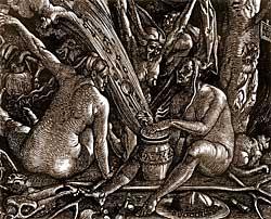 De los ungüentos y pociones de les bruxes
