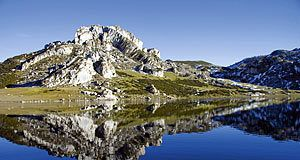 Lago Ercina (Lagos de Covadonga-Cangas de Onís) Asturias