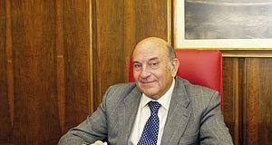 Francisco Menéndez Díaz. Presidente de la Cámara de Comercio de Avilés