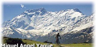 Miguel Angel Yagüe. El Himalaya a dos ruedas