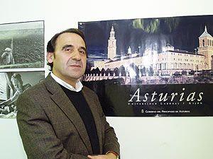 Eduardo Murias. Portavoz del PP en el Ayuntamiento de Morcín