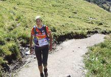Eva Braña, corredora de montaña