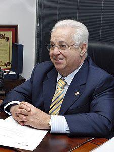 Luis Arias de Velasco. Presidente de la Cámara de Comercio de Gijón