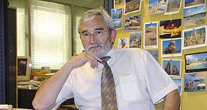 José Manuel Pérez 'Pericles'. Presidente de Valnalón