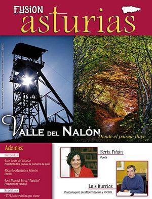 Valle del Nalón. Febrero 2009