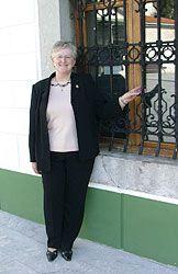 Carmen Arango. Alcaldesa de Muros de Nalón