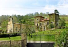 Palacio y Capilla del Marqués de Cas Estrada. Foto: Fusión Asturias