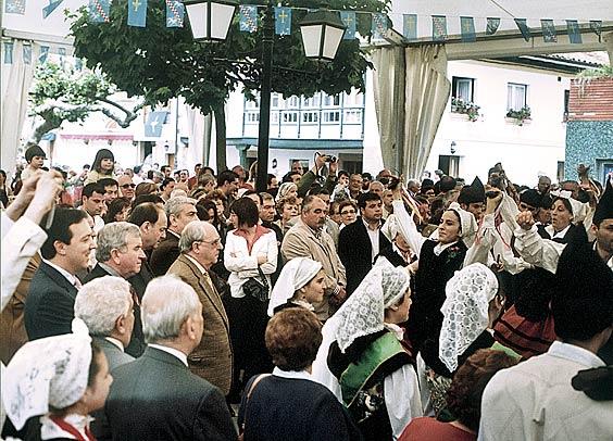 Fiestas en Santolaya. Foto: Enrique Corripio
