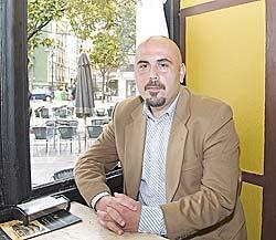 Rubén Llames, presidente del C.A. de Mallorca