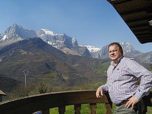 Foto: Fusión Asturias. Cándido Vega Díaz, Alcalde de Ponga.