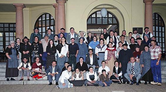 Miembros de la A.C. San Pedro de Sobrefoz