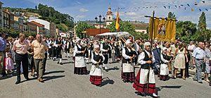 Fiestas patronales de Vegadeo dedicadas a Ntra. Sra. de la Asunción y a San Roque.
