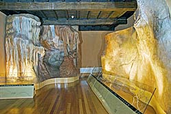 Recreación de la Cueva de la Peña de Candamo