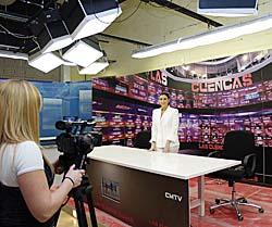 Paula Lama. Directora de programación de las Cuencas Mineras TV