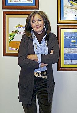 Carmen Argüelles, gerente de la Feria