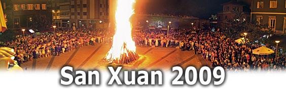 Danza Prima alrededor de la Foguera de San Xuan