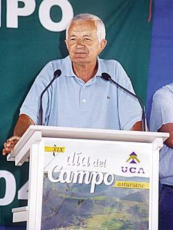 José Calvo, Secretario general de UCA (Unión de Campesinos Asturianos)
