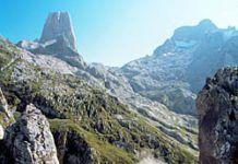 Vista del Parque Nacional de Picos de Europa
