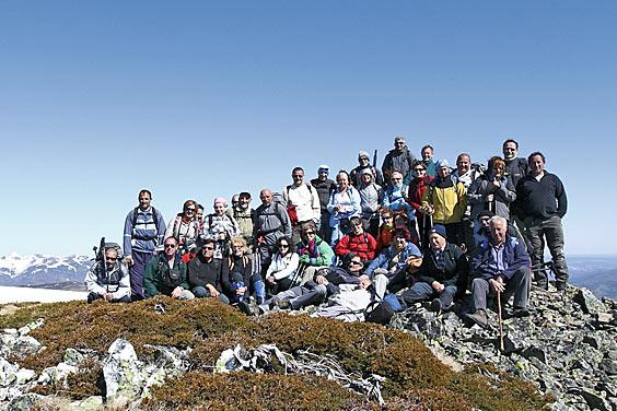 El Grupo de Montaña Piélago en la ruta Arcos de Agua, por la provincia de León