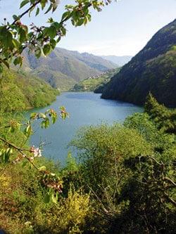 Embalse de Tanes, Caso. Foto: Juanjo Arrojo
