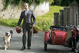 Escena del rodaje de la serie de televisión Doctor Mateo