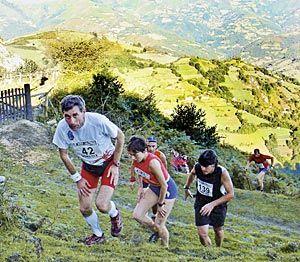 Quebrapates Peña Mea, carrera con casi cuatro mil metros de desnivel y treinta kilómetros de recorrido.