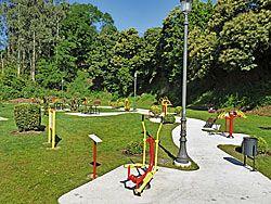 Parque Biosaludable de Las Veigas.