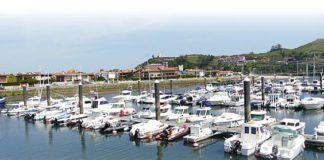Vista del puerto deportivo, que tras su ampliación se ha convertido en el tercer puerto en capacidad de Asturias.