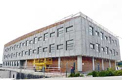 Construcción del nuevo edificio Asipo III