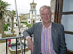 Gervasio Acevedo, Alcalde de Tapia. Foto: Valvanera