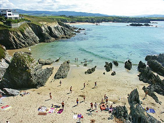 Playa de la Reburdia.