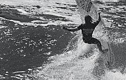 Surf en Tapia de Casariego. Foto cedida por A.S.P. Europe
