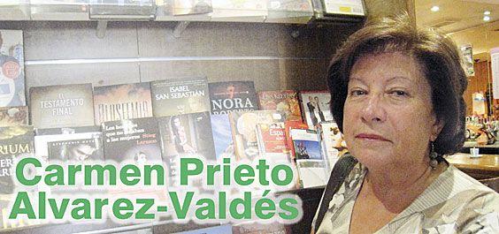 Carmen Prieto Alvarez-Valdés. Ex-Jefa de Coordinación Bibliotecaria del Principado de Asturias