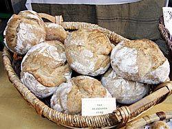 La escanda asturiana es uno de los productos estrella de la Comarca: este cereal, que se cultiva en la región desde la antigüedad, espera conseguir próximamente la Denominación de Origen.
