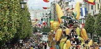 Desfile en las Fiestas de San Mateo