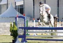 Concurso Nacional de Saltos organizado por la Federación Asturiana de Hípica