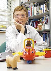 Begoña Domínguez Aurrecoechea, pediatra