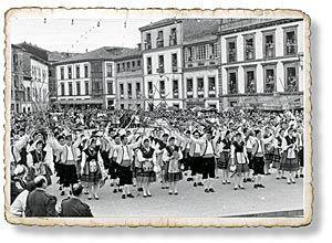 Celebración de la Danza del Portal en 1960