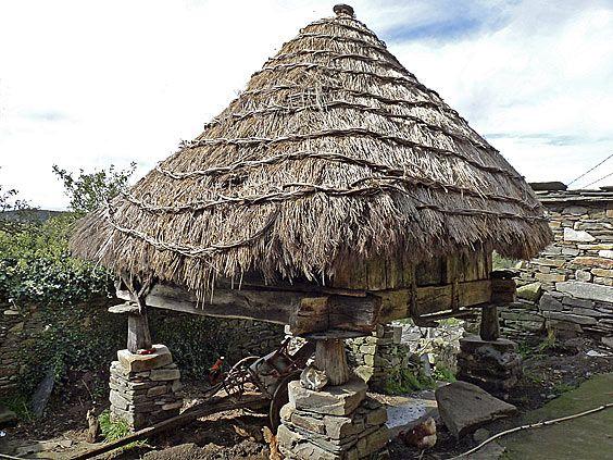Hórreo en Morlongo