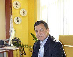 Diego Vélez. Presidente de la Asociación de Empresarios del Polígono de Riaño