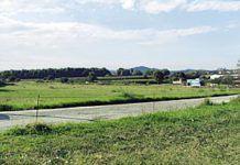 Zona en la que se ubicará el futuro Polígono Industrial de Bobes (Siero)
