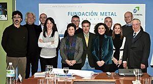 Reunión Transnacional de los socios del proyecto SKRAT en la sede de la Fundación Metal Asturias en Gijón, entidad promotora de dicho proyecto.