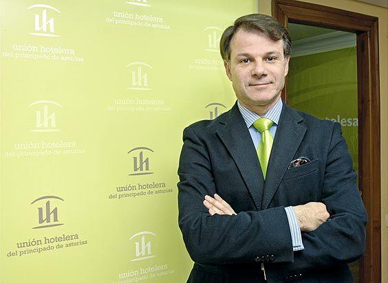 Javier Alvarez Garzo, Presidente de Unión Hotelera de Asturias