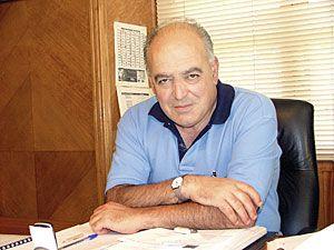 Gabriel Pérez Villalta. Alcalde de Aller