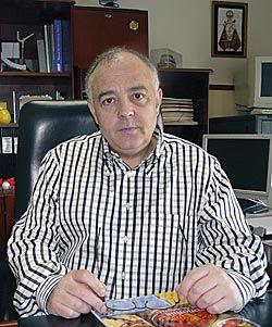 Angel González. Presidente de la Asociación de Empresarios del Polígono de Perográn (Siero)