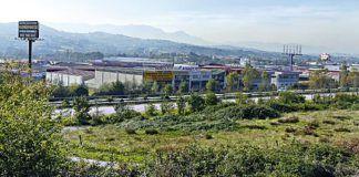 Vista del Polígono Industrial de Proni-Meres (Siero)
