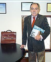 Gonzalo Alonso Celorio. Presidente de la Asociación de Empresarios del Polígono de Proni y Presidente de la Federación de Polígonos Industriales de Asturias