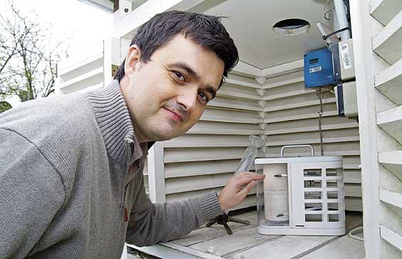 Iñigo Caballero. Delegado Territorial de AEMET (Agencia Estatal de Meteorología) en Asturias