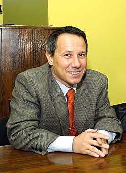 Pablo Sanzo. Presidente de la Entidad de Conservación del Parque Empresarial de Argame