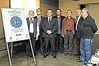 Presentación en el Club de Prensa de La Nueva España el proyecto del CELME, Centro de Estudios Literarios de la Minería Europea